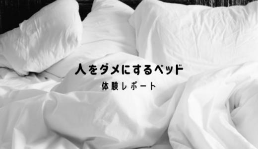 快適&怠惰!一人暮らし女子による、人をダメにするベッド体験レポート