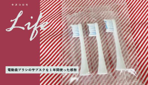 【電動歯ブラシのサブスク】毎月続けるオーラルケア♡ガレイドデンタルメンバーを1年間使った感想